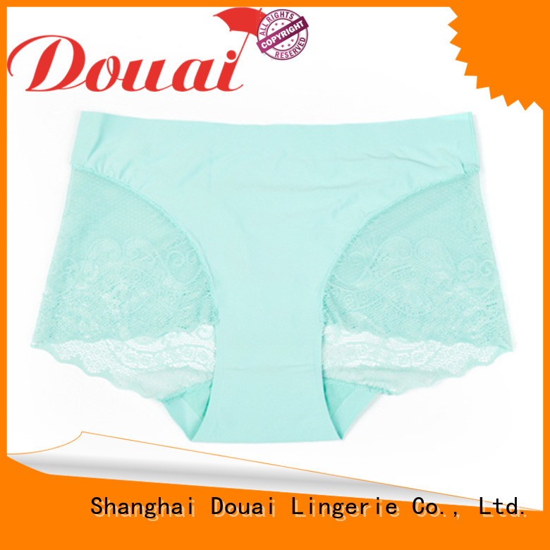 Douai pink lace underwear promotion for ladies