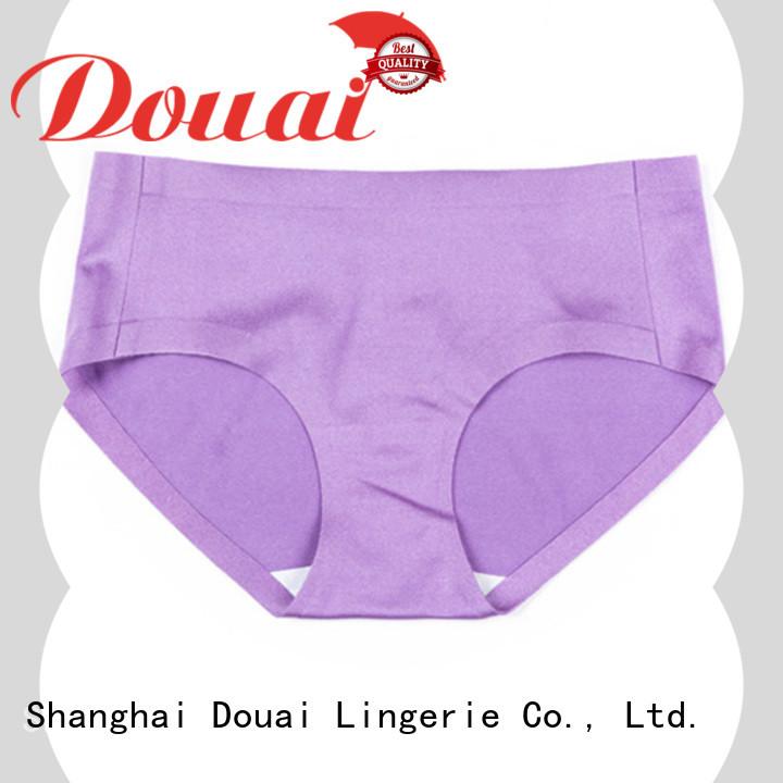 Douai comfortable women's seamless underwear wholesale for women
