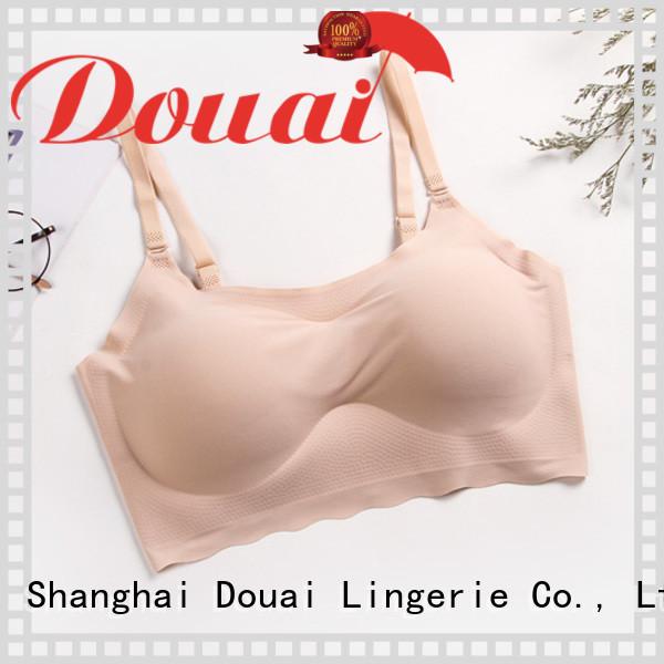 Douai flexible one piece seamless bra supplier for bedroom