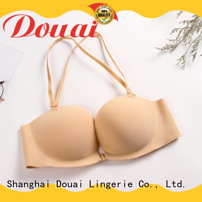 Douai fancy front lock bra directly sale for girl