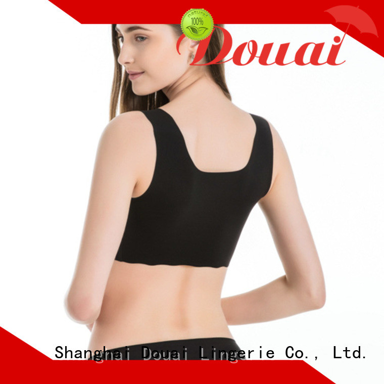 thin high support sports bra wholesale for sking