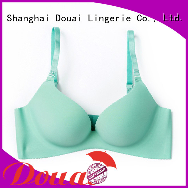 Douai simple seamless cup bra directly sale for madam