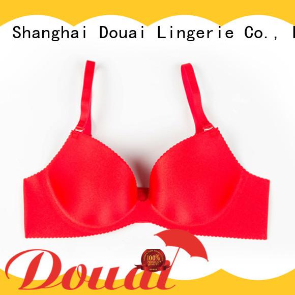 Douai simple seamless bra reviews design for madam