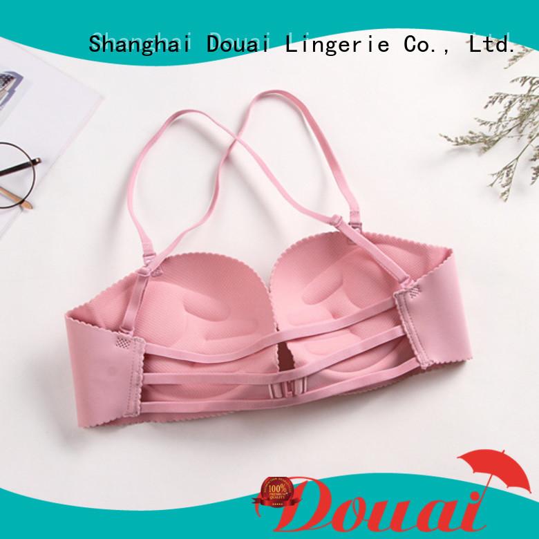 Douai front clip bras wholesale for girl
