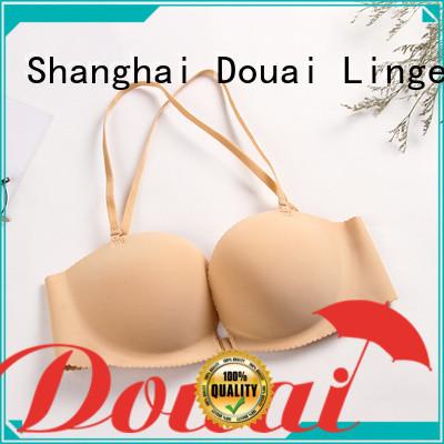 Douai fancy front hook bras directly sale for girl