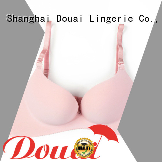 Douai fancy padded perfect coverage bra directly sale for women