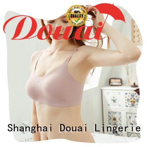 Douai seamless women's bra tank tops manufacturer for home