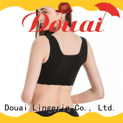 Douai soft womens gym bra personalized for hiking