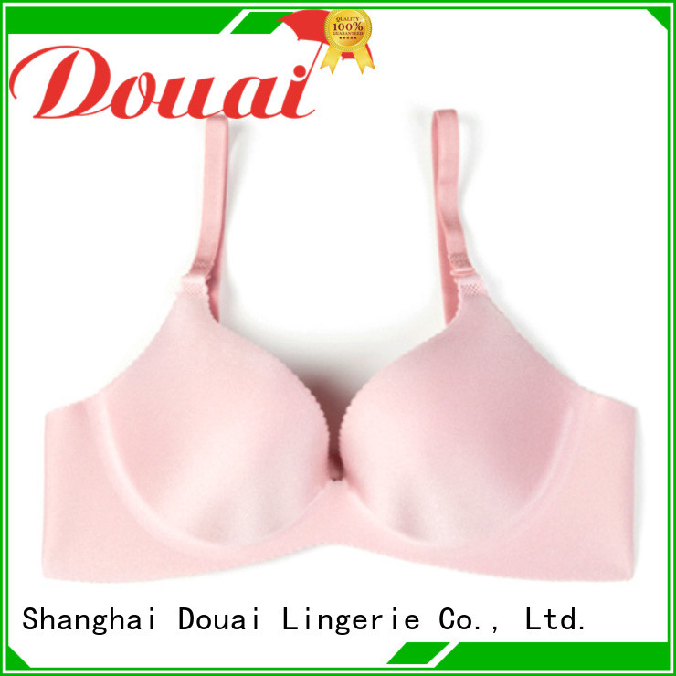Douai comfortable full-cup bra faactory price for ladies