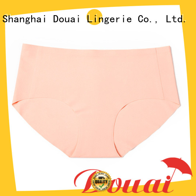 Douai comfortable ladies seamless underwear factory price for lady