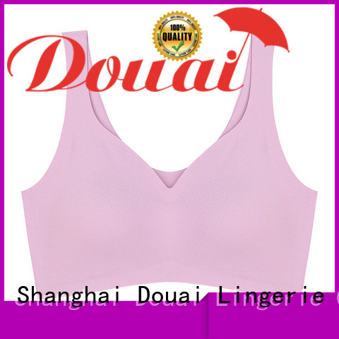 Douai elastic sports bra for gym personalized for sking
