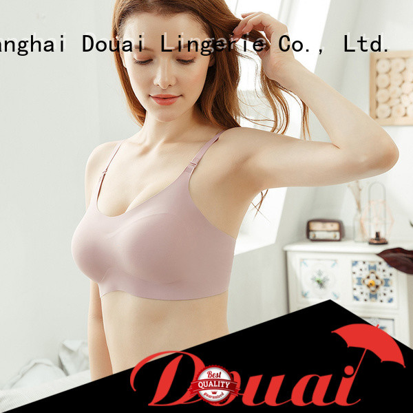 Douai detachable best seamless bra wholesale for bedroom