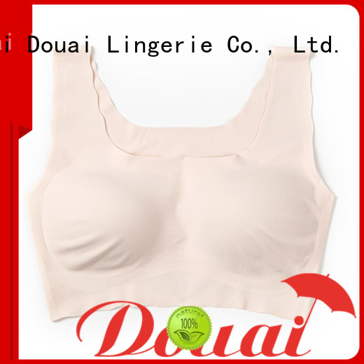 Douai women's bra tank tops factory price for hotel