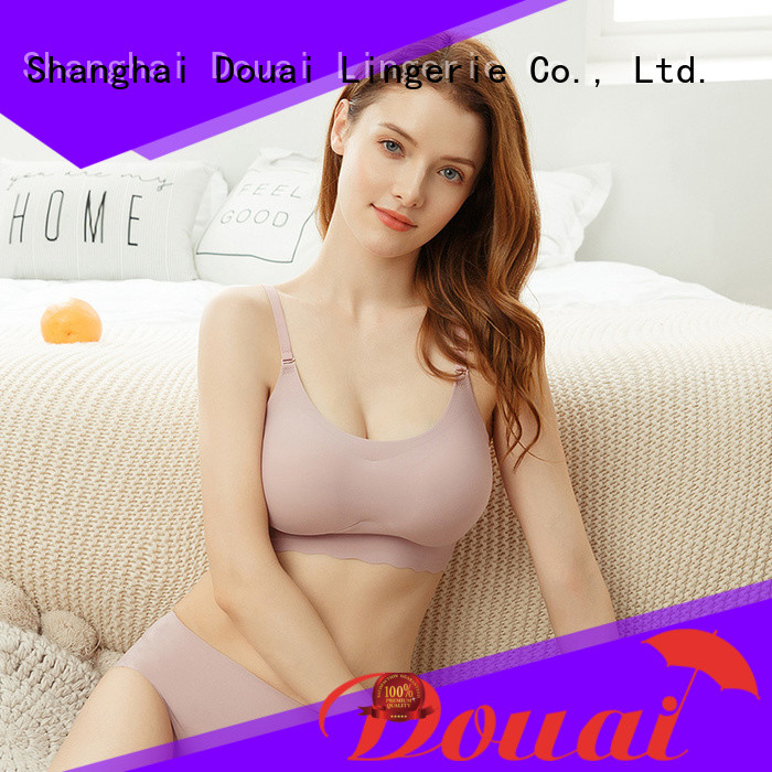 flexible seamless comfort bras factory price for hotel
