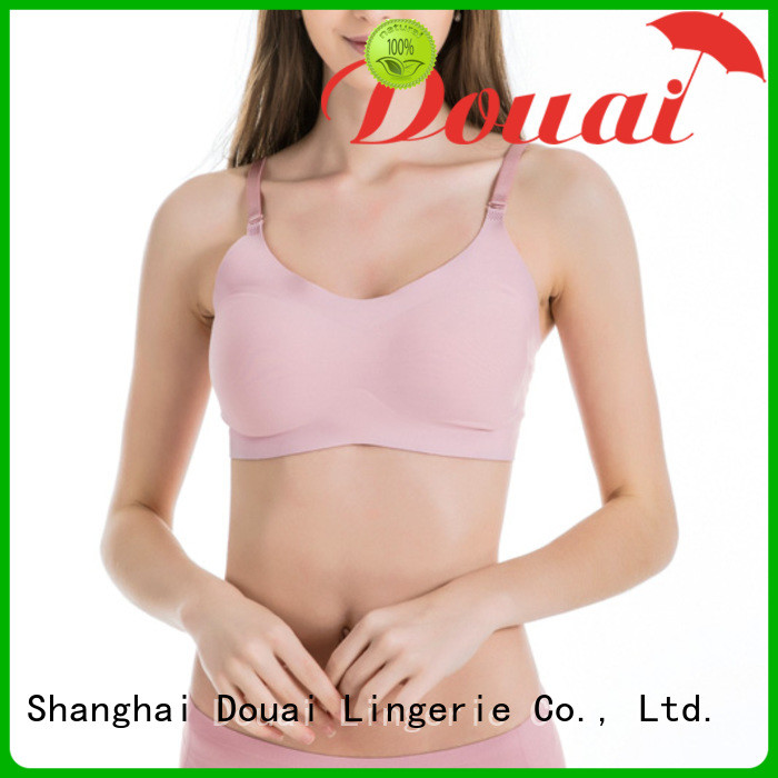 Douai seamless seamless comfort bras factory price for hotel