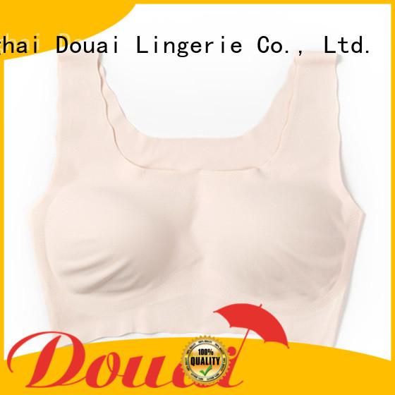 Douai seamless bra vest top factory price for bedroom