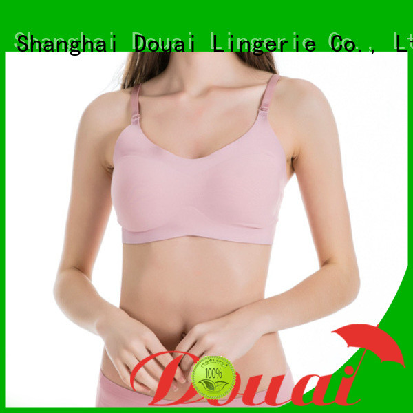 Douai seamless bra tops with support supplier for bedroom