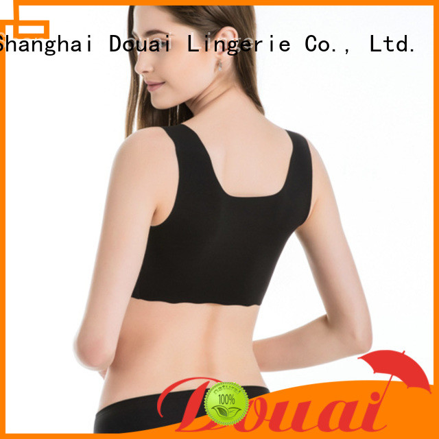 thin ladies sports bra factory price for sport