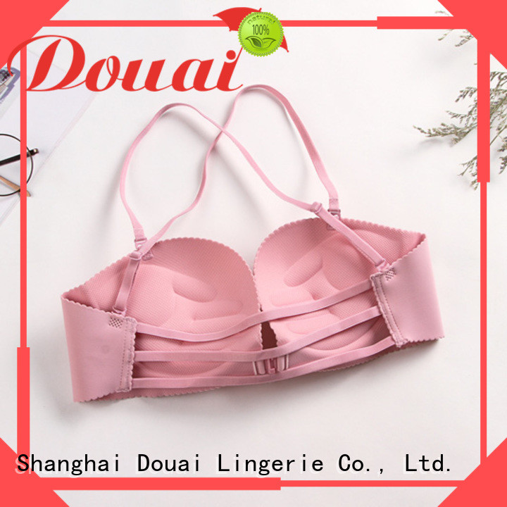 Douai convenient front clasp bralette wholesale for women