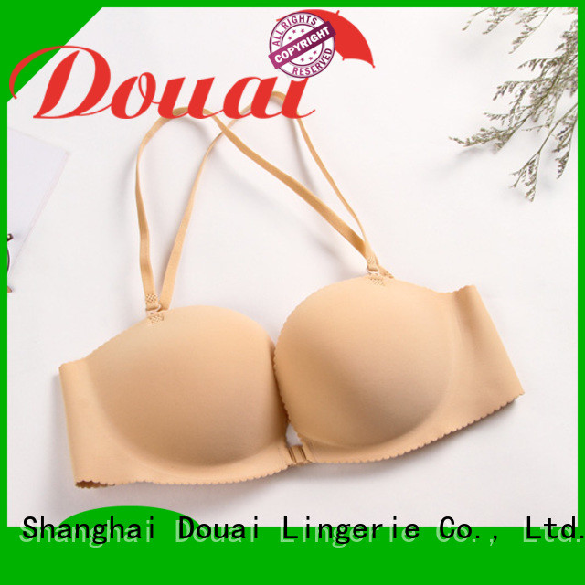 fashionable front hook bras directly sale for madam
