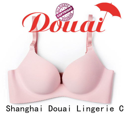Douai attractive seamless push up bra wholesale for women