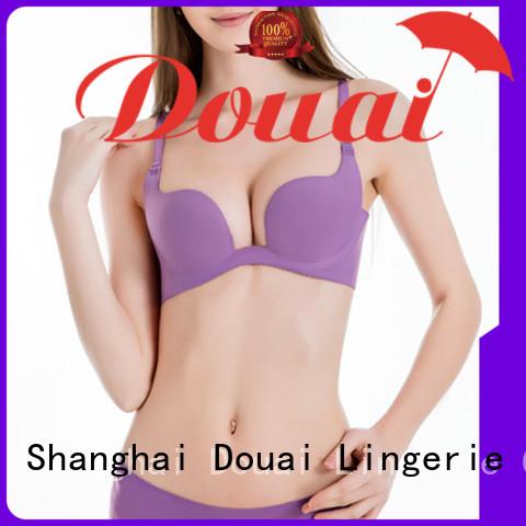 Douai colorful u shape bra from China for dress