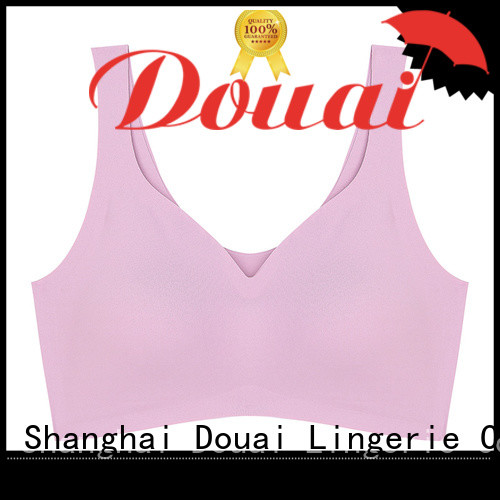 Douai thin high support sports bra supplier for sking