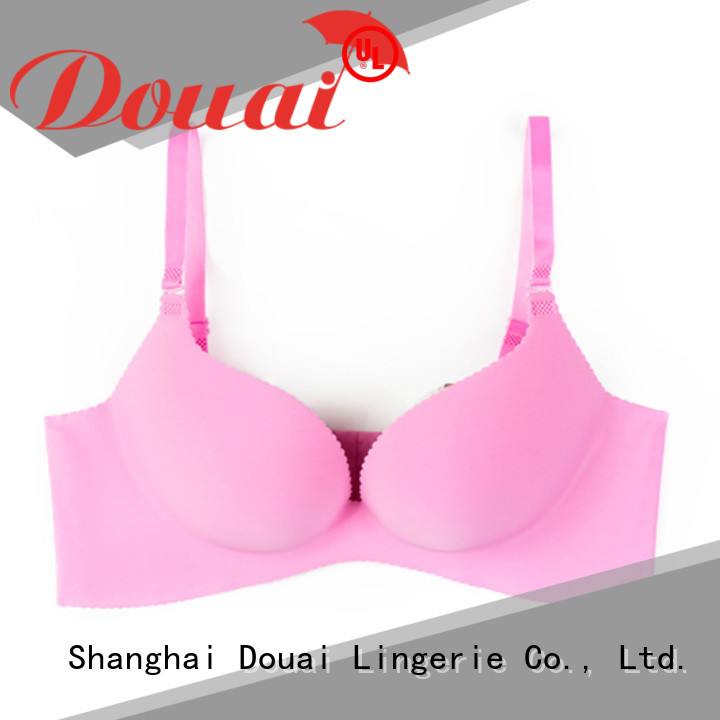 Douai breathable ladies push up bra directly sale for girl