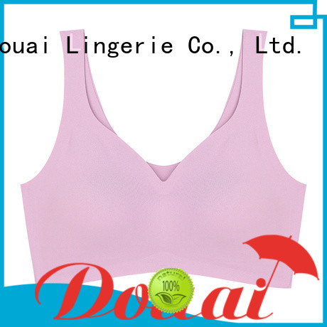 Douai elastic yoga sports bra wholesale for sking