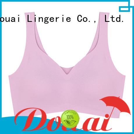 Douai elastic yoga sports bra wholesale for sking
