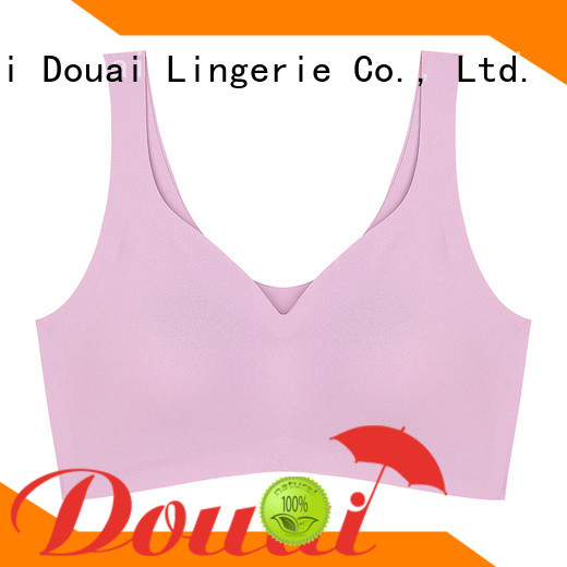 Douai elastic yoga bras for large breasts supplier for yoga