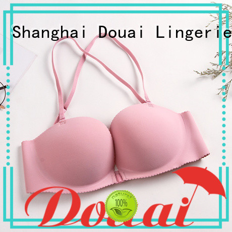 Douai cotton front clasp bralette for girl