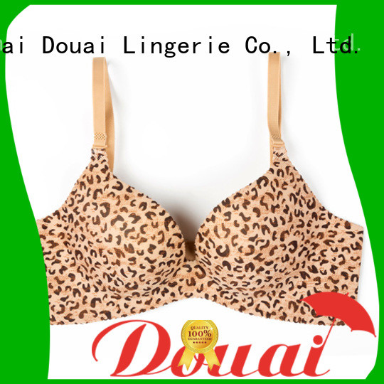 Douai best seamless push up bra wholesale for ladies