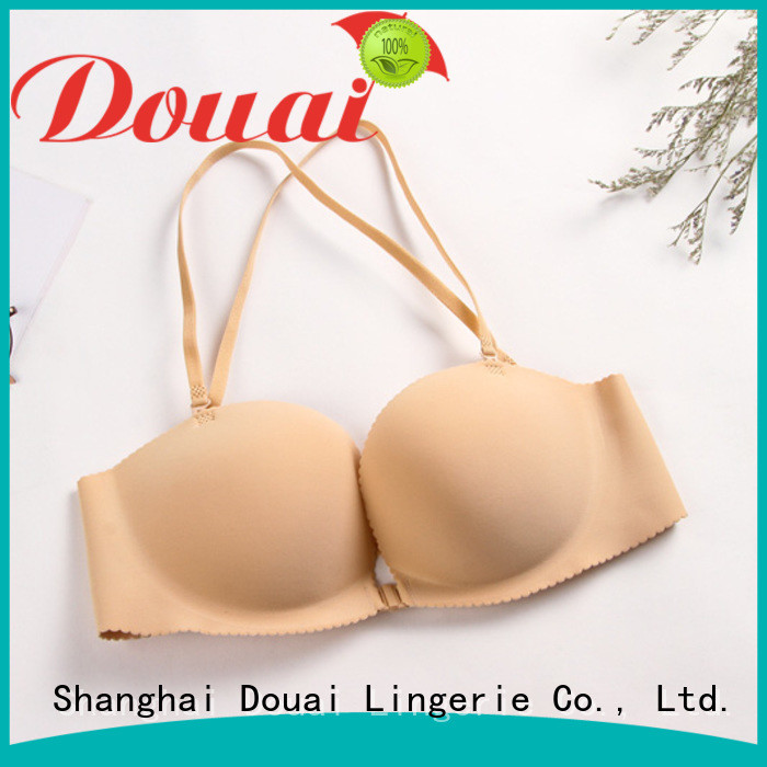 Douai front clasp bra supplier for girl