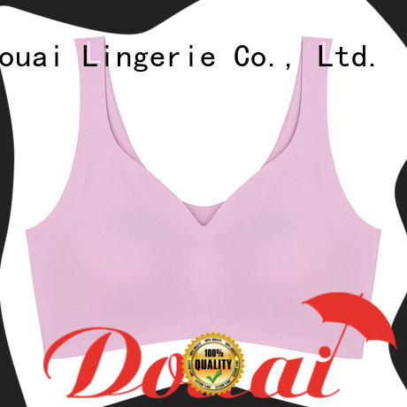 Douai best women's sports bra factory price for hiking