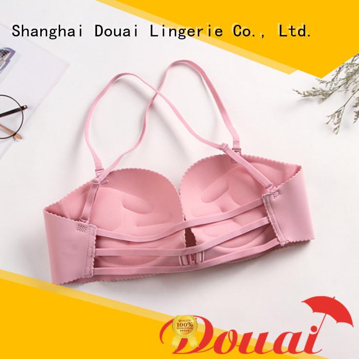 convenient front button bra design for women