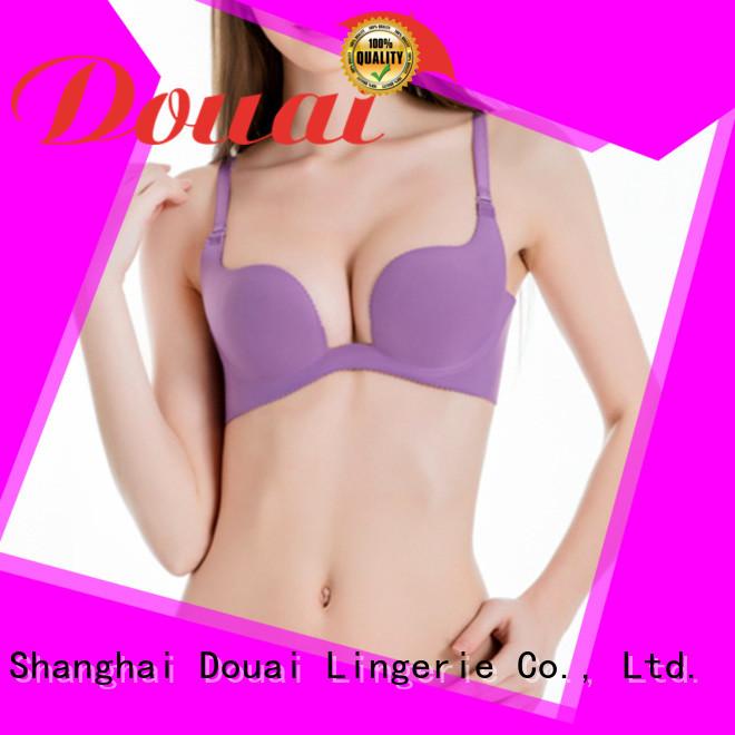 Douai hot selling deep u bra customized for wedding