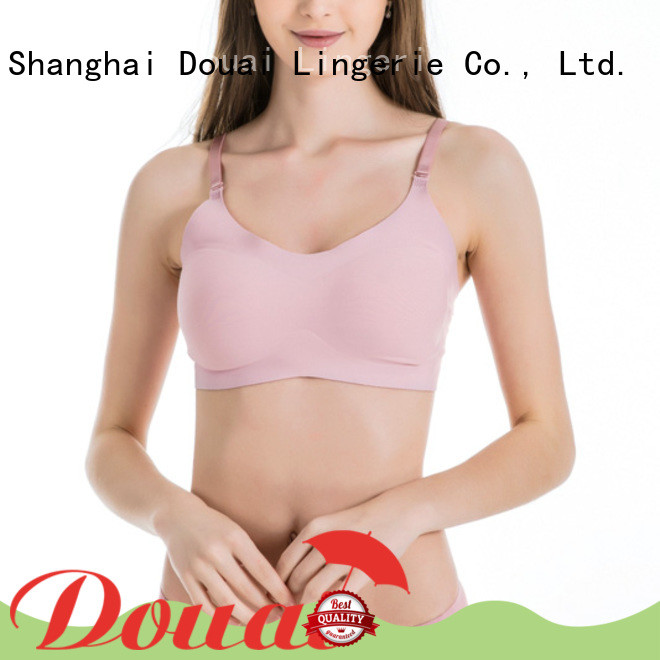 Douai comfortable best seamless bra factory price for hotel