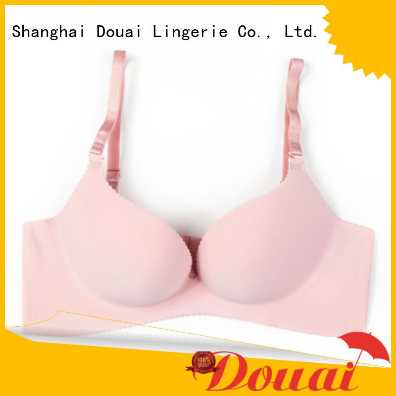 Douai breathable cheap push up bras supplier for girl