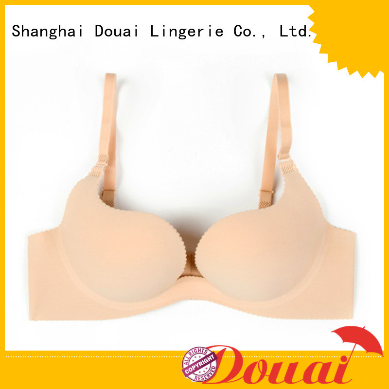 colorful u shape plunge bra directly sale for beach