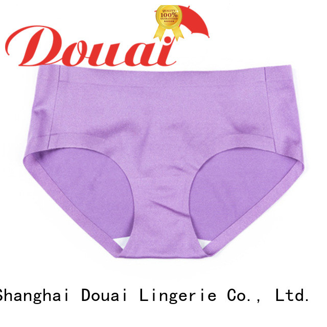 natural seamless underwear factory price for lady
