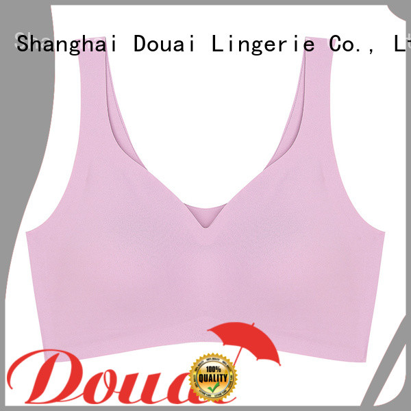 soft yoga bra top factory price for hiking