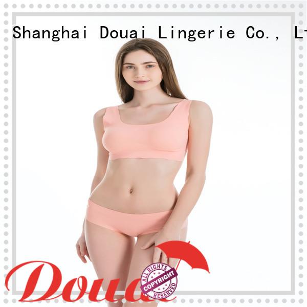 Douai light womens gym bra supplier for yoga
