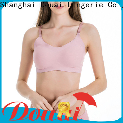 seamless bra tops with support factory price for hotel