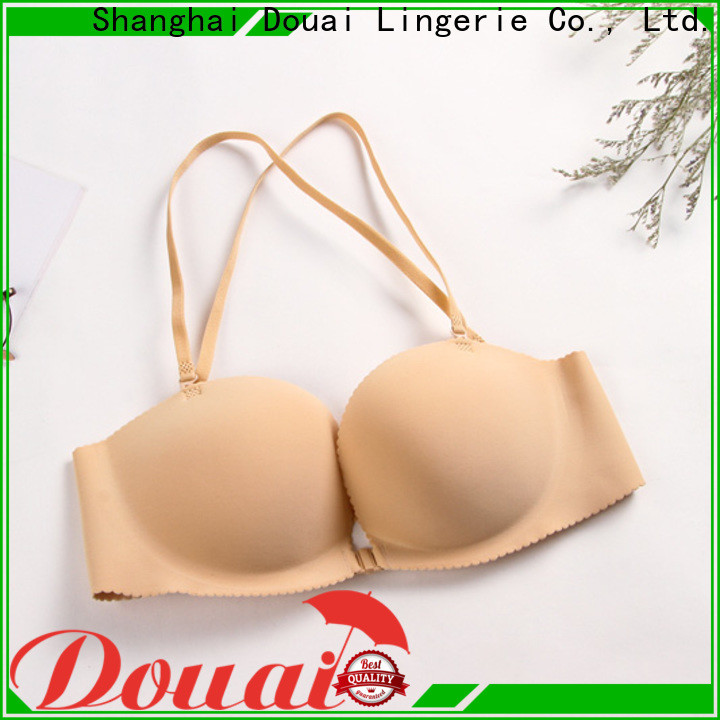 Douai fashionable front hook bras directly sale for ladies