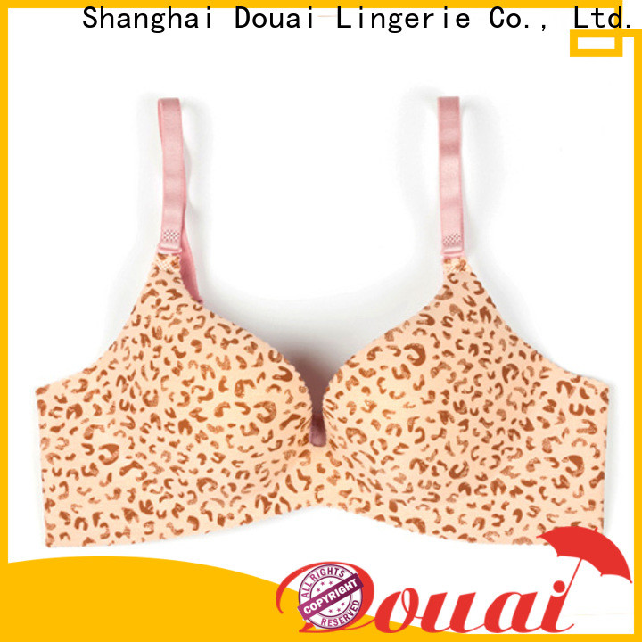 Douai good quality best full coverage push up bra promotion for ladies