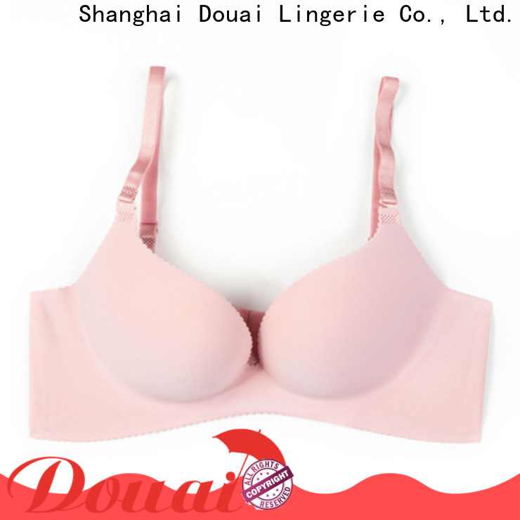 Douai fancy good push up bras wholesale for girl