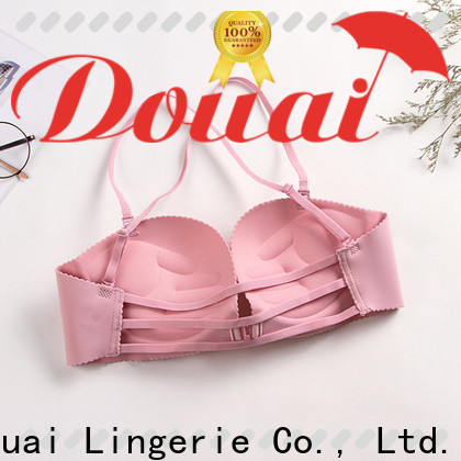 fashionable front clasp bra design for women