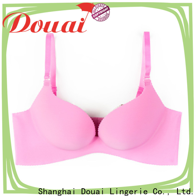 comfortable ladies push up bra supplier for ladies