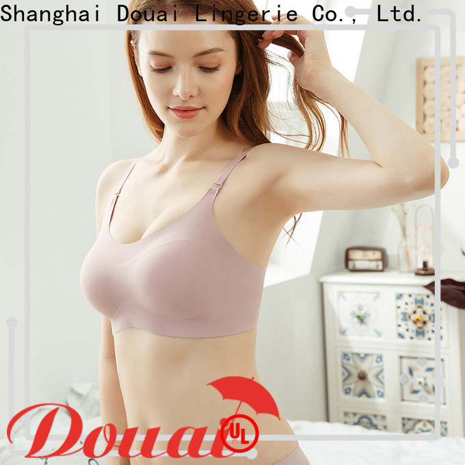 Douai seamless bra vest top supplier for bedroom
